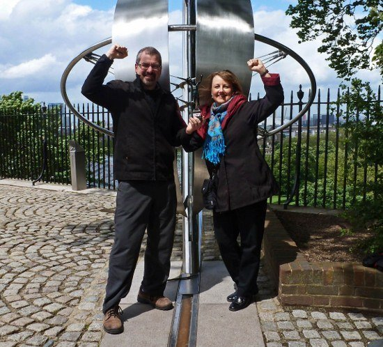 Prime Meridian line Greenwich