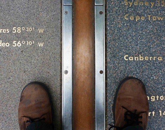 Royal Observatory Greenwich Prime Meridian Line Visit