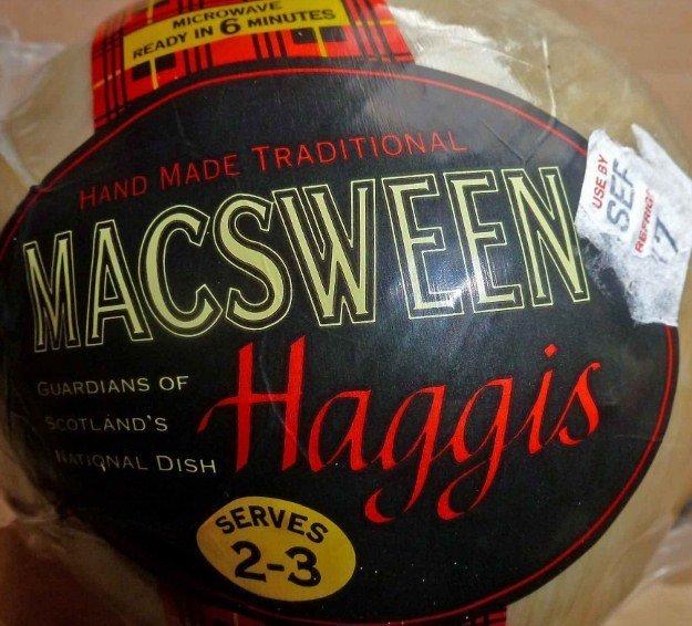 haggis taste test