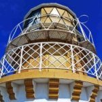 Kinnaird Head Lighthouse in Scotland crown