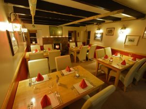 Pennan Inn dining room-local hero film locations