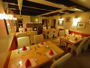 Pennan Inn dining room-local hero film locations
