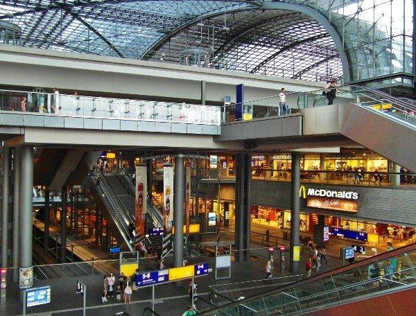 Berlin train station Hauptbanhof