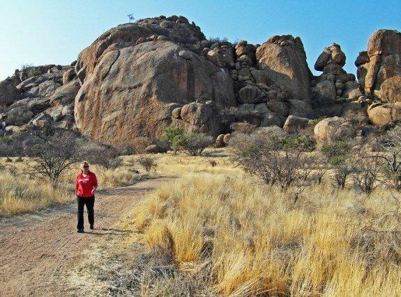 Ai Aiba rock painting lodge Namibia