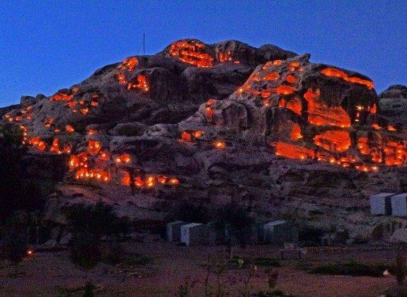 Little Petra Bedouin camp Jordan