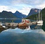 Norway hidden fjord