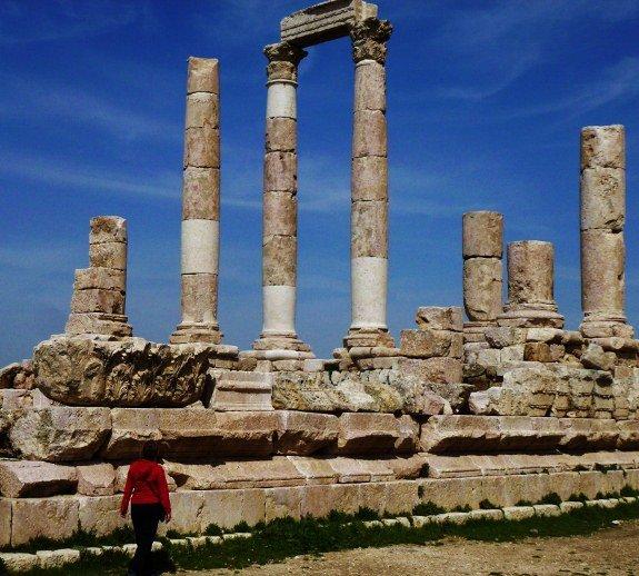 Philadelphia Amman Jordan Temple of Hercules