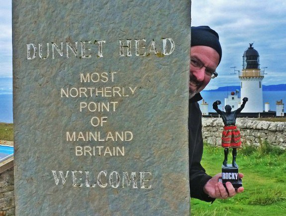 Travel the world Rocky Dunnet Head Scotland