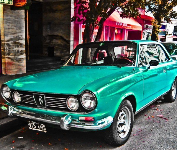 Photos Of Colorful Vintage Cars Of South America