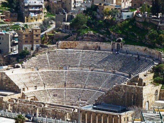 Visit to Jordan Roman Theater Philadelphia Amman