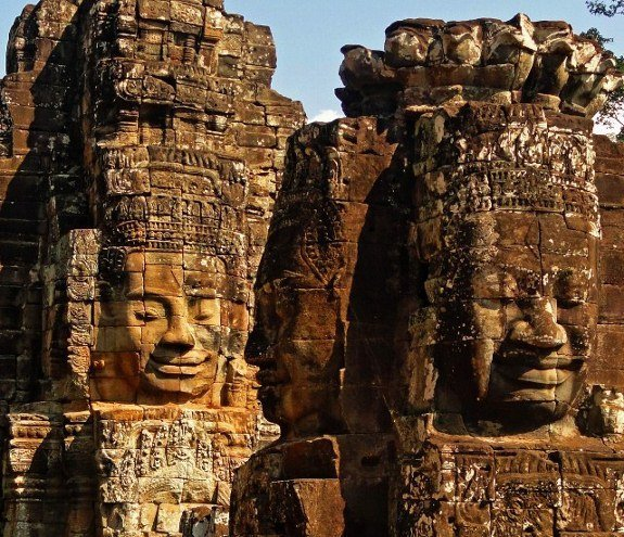travel for a year Bayon Temple Angkor Wat