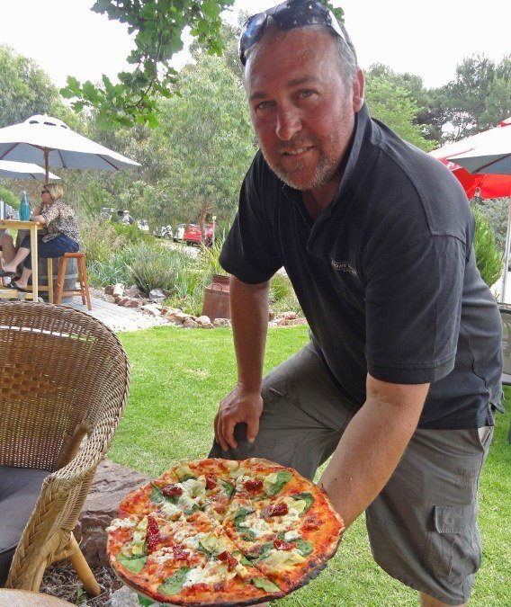 Best pizza in the world Australia Clare Valley Stone Bridge winery