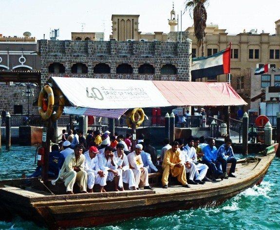 travel for a year Dubai harbor