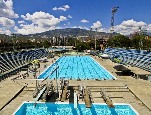 Estadio pool complex Medellin