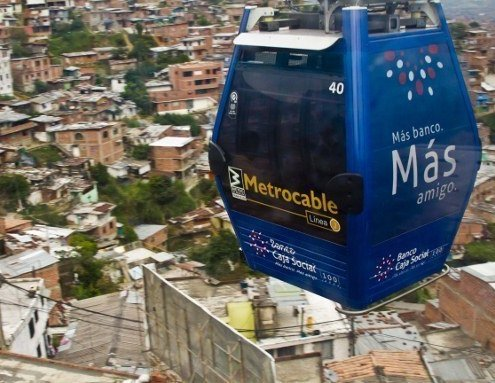MetroCables free things Medellin Colombia