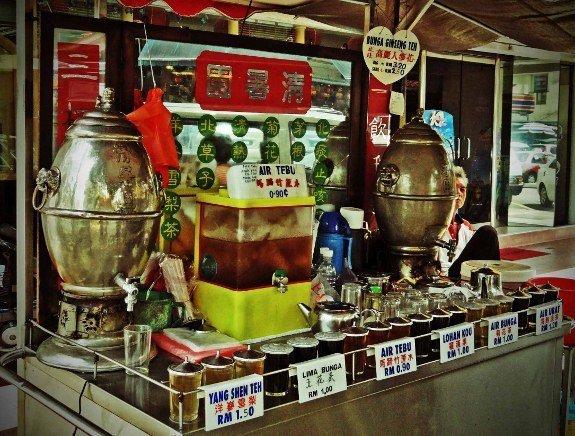 Kuala Lumpur tea vendor