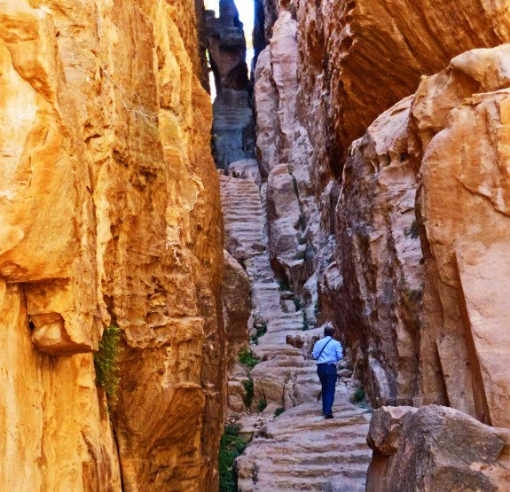 Little Petra stairs