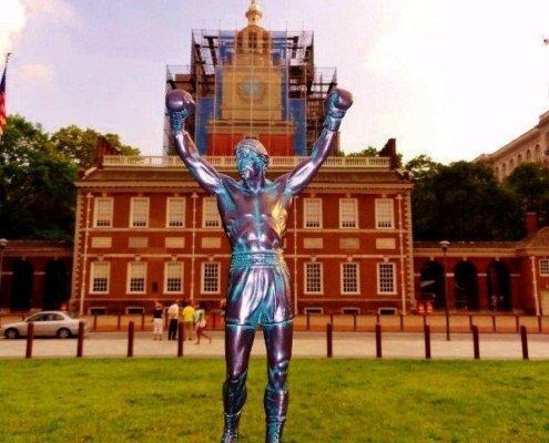 Rocky Independence Hall I heart Philadelphia