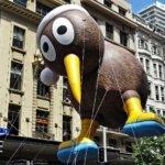 Christmas in New Zealand Kiwi bird Auckland parade