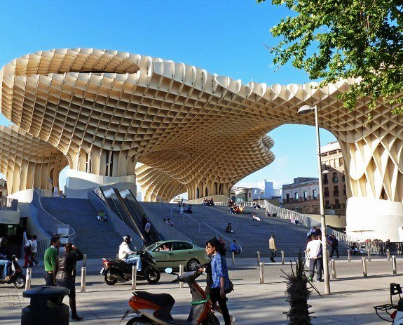 Free things to do in Seveille Metropol Parasol