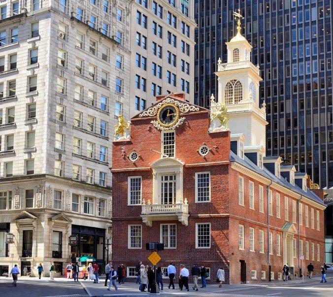 Free things Boston old statehouse