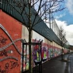 Peace barrier in Belfast