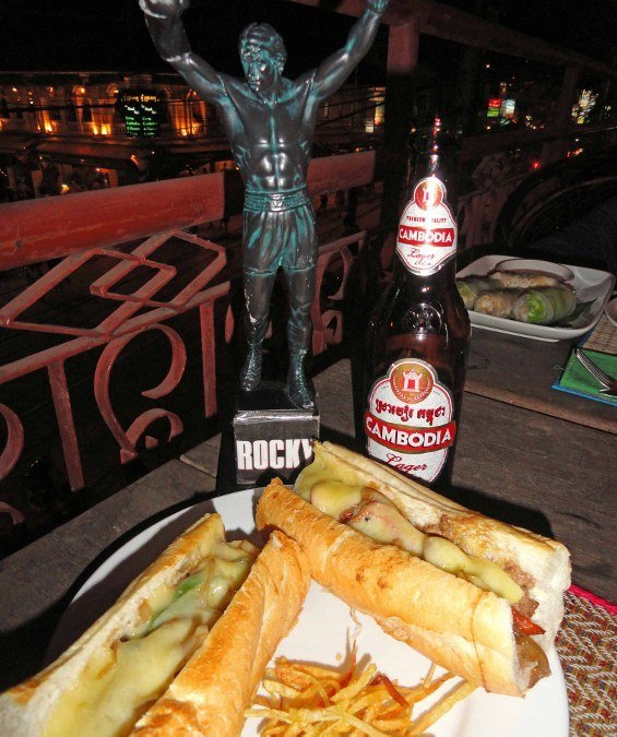 Philly cheesesteak Cambodia