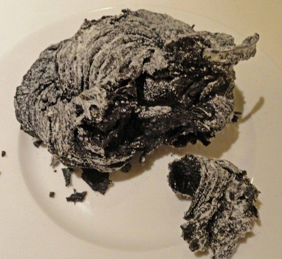 worst Donut charcoal lavender Bakery Kuala Lumpur