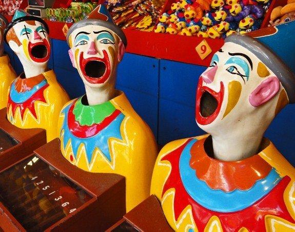 Luna Park clowns Sydney
