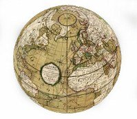 Antique globe 199x173