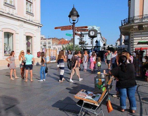 Belgrade downtown