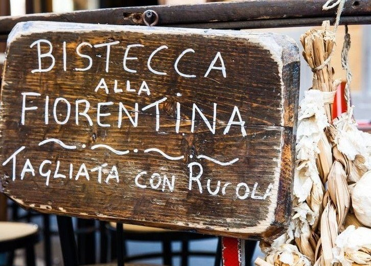 Bistecca alla fiorentina sign
