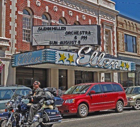 Ellen Theater Bozeman Montana art deco