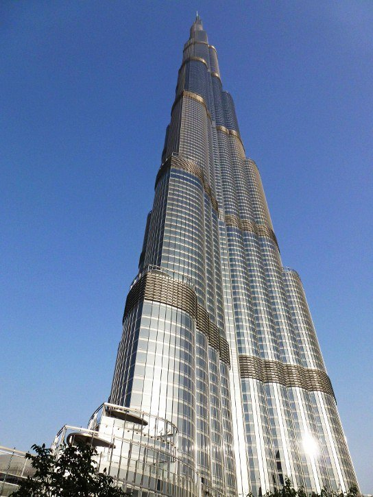 Burj Khalifa the tallest building in the world Dubai