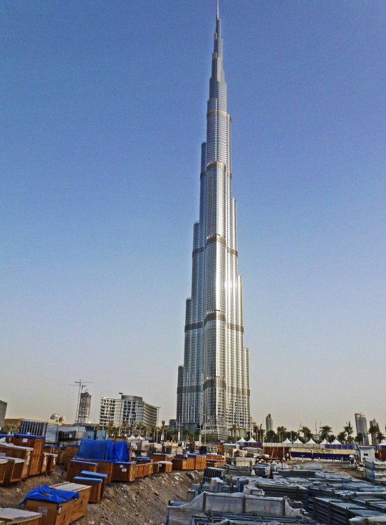 Burj Khalifa tallest building in the world Dubai