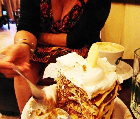 Dulce de leche cake rissy