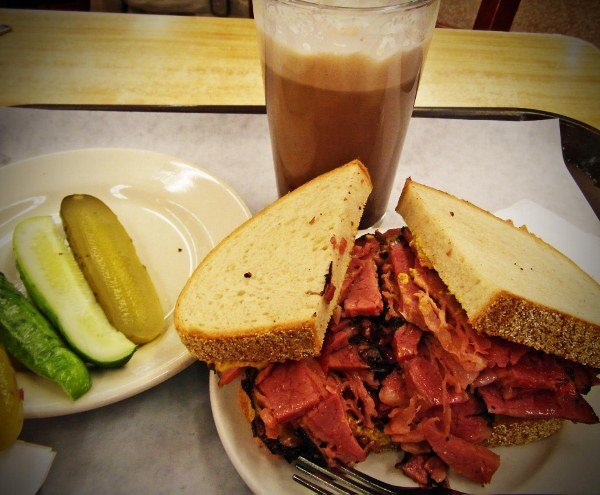 Katzs deli New york pastrami best sandwiches in the world