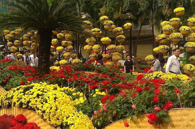 Tet Flower Festival-Ho Chi Minh City