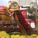 Nguyen Hue Flower Street-Year of the Dragon