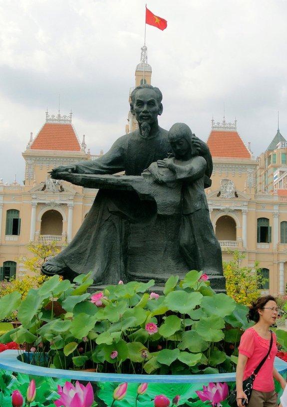 Nguyen Hue Flower Street- Uncle Ho