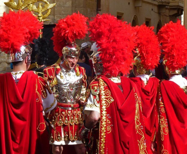 Roman soldiers Good friday Malta