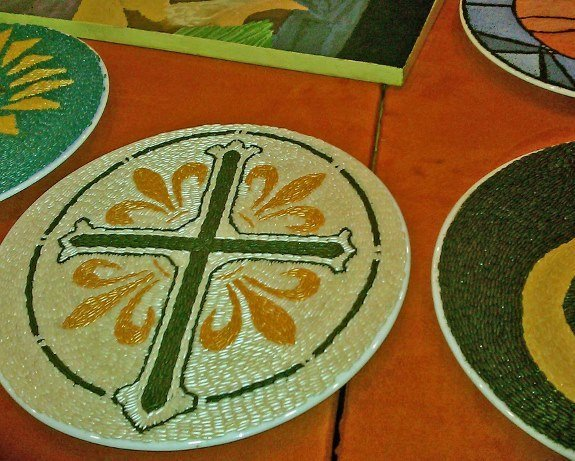 malta good friday rice mosaic
