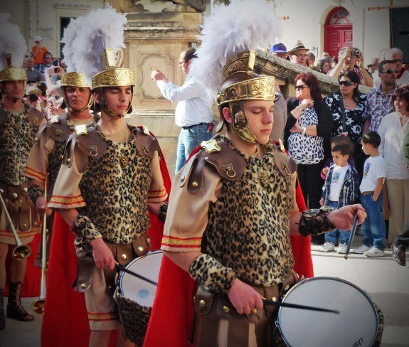 Malta good friday procession in Malta-drummers-Changes in Longitude