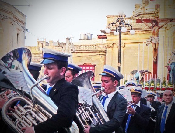 Good Friday procession Malta-Feast-marching band-Changes in Longitude