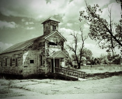 Picher Oklahoma abandoned church