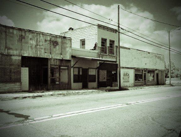 Picher Oklahoma abandoned town Main Street (575x436)
