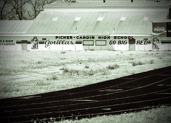Picher Oklahoma high school track