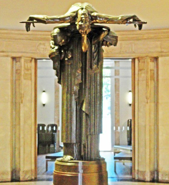 ANZAC memorial sydney sacrifice statue