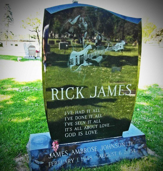 rick james headstone Buffalo