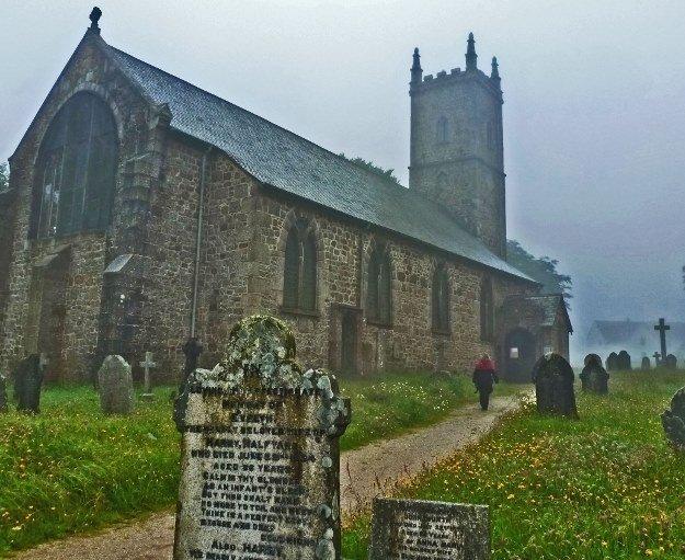 st michaels church dartmoor england